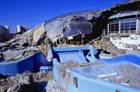 Обследование зданий. После обрушения аквапарка в Москве